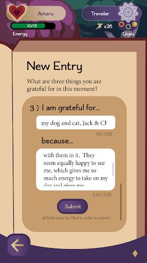 Amaru: The Self-Care Virtual Pet apkdebit screenshots 7