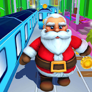 Subway Santa Runner Santa Rush Adventure