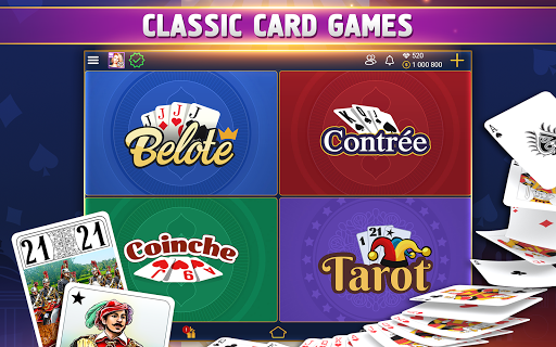 VIP Belote - French Belote Online Multiplayer Apkfinish screenshots 18