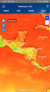 Weather Radar – Windy, rain radar & storm radar 2