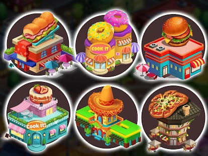 Cook It! Cooking Games Madness & Krusty Cook-off Screenshot