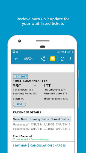 Indian Rail Train Info 3.0.61 screenshots 2