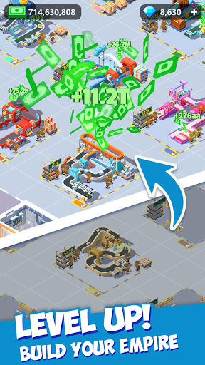 Idle Courier Tycoon - 3D Business Manager  Screenshots 10