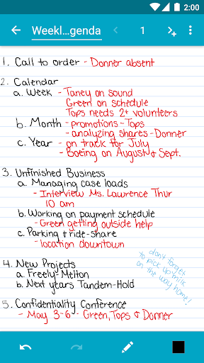 Squid - Take Notes & Markup PDFs  Screenshots 3