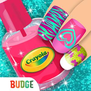 Crayola Nail Party: Nail Salon