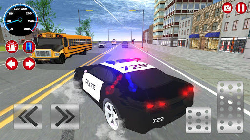 Real Police Car Driving Simulator: Car Games 2020 3.5 screenshots 1