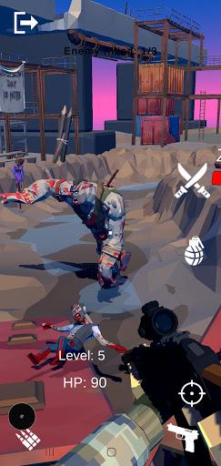 Télécharger Gratuit Gun Shooting: Zombie Invasion Defense APK MOD (Astuce) screenshots 2