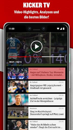 kicker Fußball News  screenshots 5
