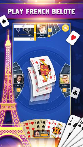 VIP Belote - French Belote Online Multiplayer 3.6.39 screenshots 1
