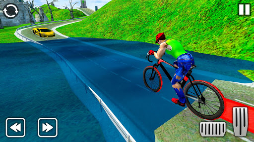Light Bike Fearless BMX Racing Rider 2.1 screenshots 5