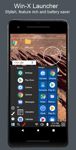 Win-X Launcher (No ads) 8.5 screenshots 1