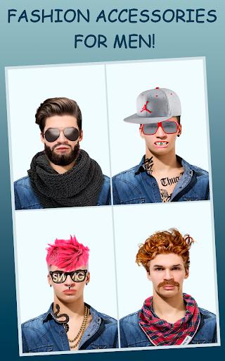 Men Makeup Photo Editor Handsome!ud83cudfc6 1.4.8 Screenshots 6