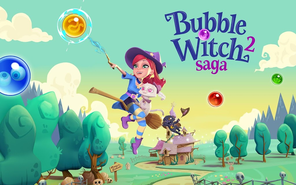 Bubble Witch 2 Saga  poster 10
