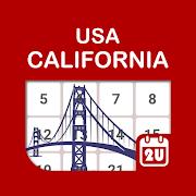 California Calendar - Holiday & Note (2021)
