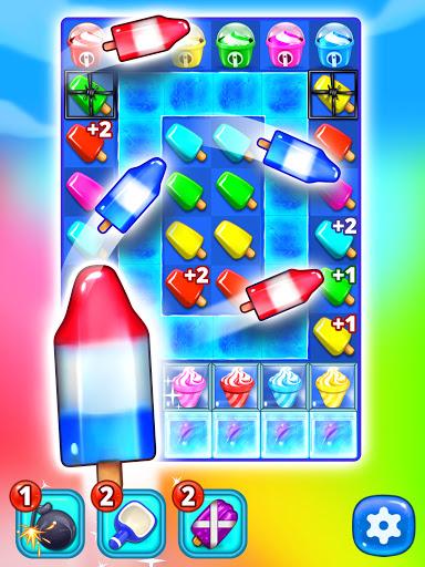 Ice Cream Paradise - Match 3 Puzzle Adventure Apkfinish screenshots 10