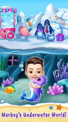 Sweet Baby Girl Mermaid Life - Magical Ocean World apkmr screenshots 6