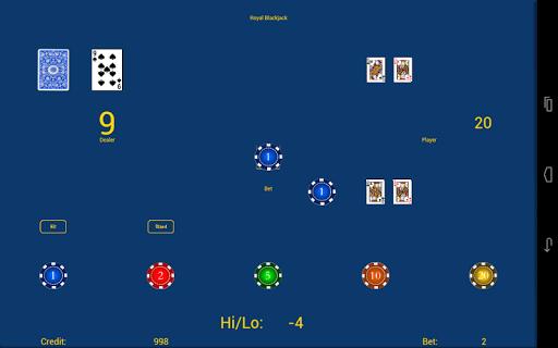 royal blackjack screenshot 2