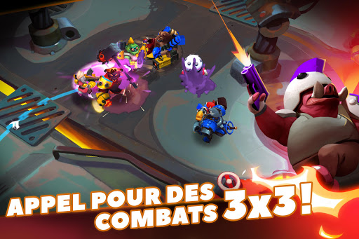 Code Triche WILD League: Top-Down SHOOTER  APK MOD (Astuce) screenshots 1