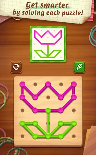 line puzzle: color string art screenshot 1