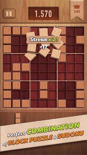 Woody 99 - Sudoku Block Puzzle - Free Mind Games 1.3.8 screenshots 2