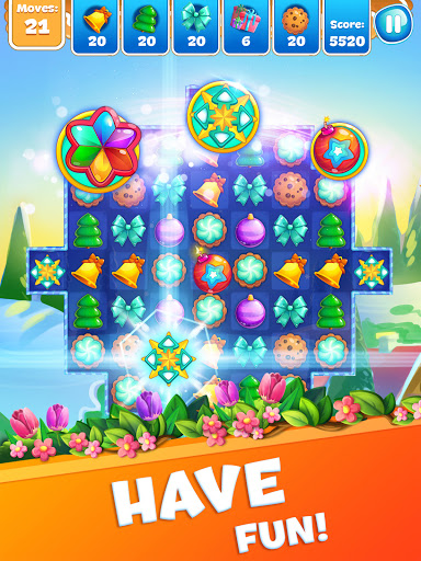Christmas Sweeper 3 - Puzzle Match-3 Game android2mod screenshots 12