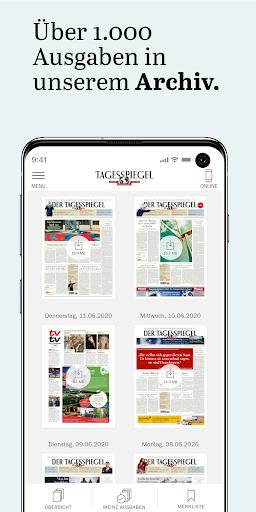 Der Tagesspiegel - alle aktuellen News des Tages For PC Windows (7, 8, 10, 10X) & Mac Computer Image Number- 11