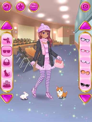 Anime Dress Up - Games For Girls 1.1.9 Screenshots 9