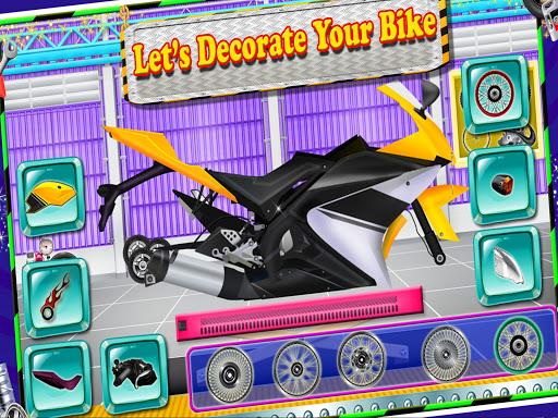 Repair Master 2D: Bike Mechanic Simulator Game screenshots 9