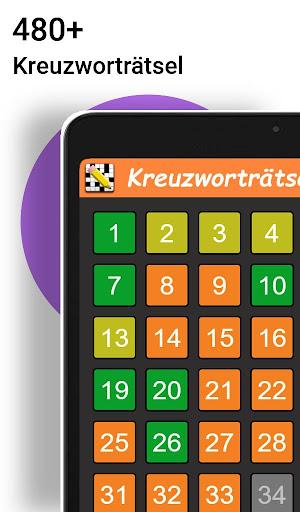 Kreuzwortru00e4tsel Deutsch kostenlos  Screenshots 7