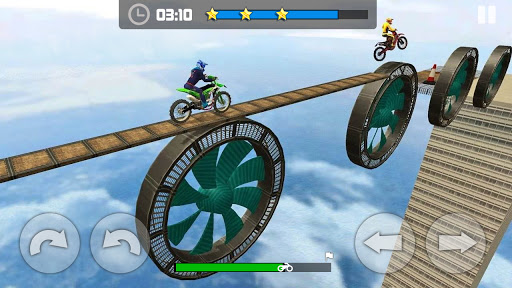 Sky Bike Stunt Master : Free Offline Racing Game  screenshots 4