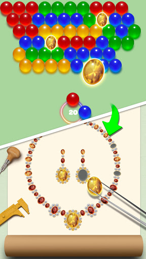 Bubble Shooter Jewelry Maker 4.0 screenshots 2