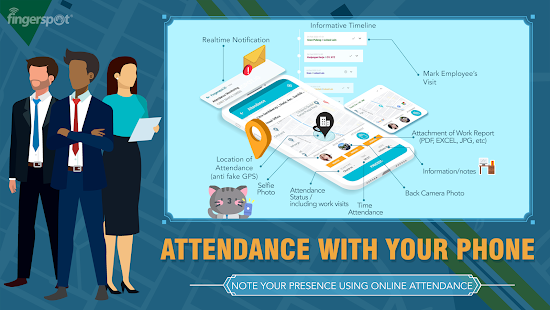 Fingerspot.iO: Online Attendance and Payroll Screenshot