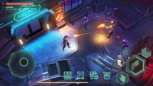 Cyberika: Action Adventure Cyberpunk RPG screenshots 3
