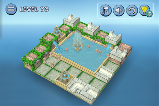 Flow Water Fountain 3D Puzzle 1.2 Screenshots 6
