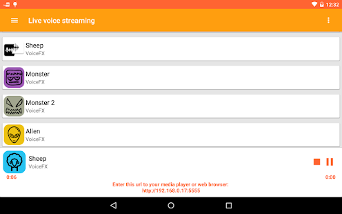 VoiceFX - Voice Changer with voice effects 1.1.8d-google Screenshots 13