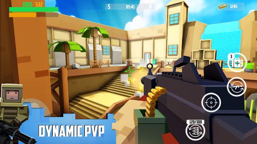 Block Gun: FPS PvP War - Online Gun Shooting Games apkslow screenshots 3