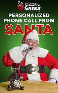 Personalized Call from Santa (Simulated)