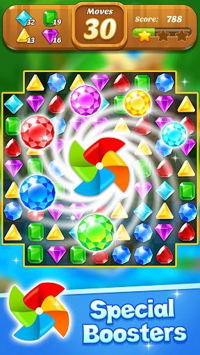 Jewel & Gems Mania 2020 - Match In Temple & Jungle  screenshots 5