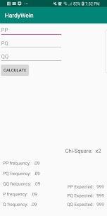 HardyWeinberg Calculator For Pc 2020 (Windows, Mac) Free Download 1