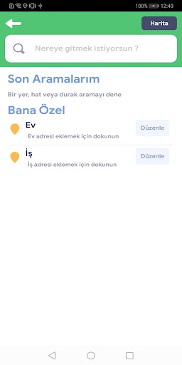 kentkart mobile 5.0.2 Screenshots 1