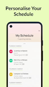 Live Football On TV Guide Apk 2021 4