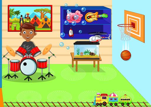 Kids Mini Home Family Life - My Toys House Town Apkfinish screenshots 6