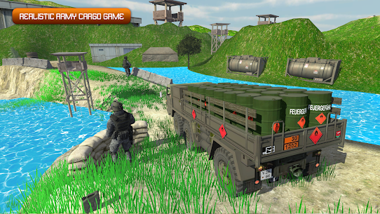 Army Truck Driving 2020: Cargo Transport Game 2