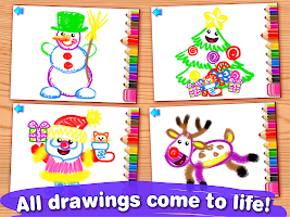 Drawing Christmas for Kids Drawing Games for Girls