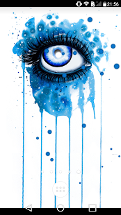 Beautiful Eyes : Look at me Live wallpaper free
