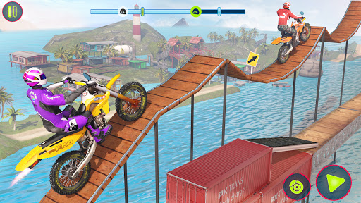 Bike Stunt Race 3d Bike Racing Games - Free Games 3.84 screenshots 1
