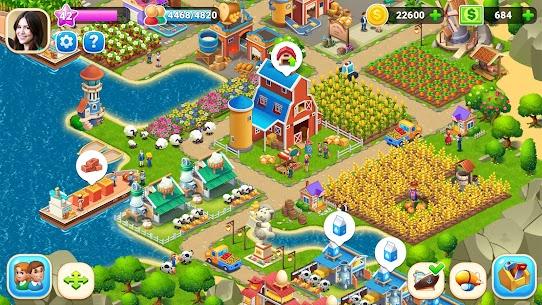 Farm City  Farming  City Building Apk Download NEW 2021 4