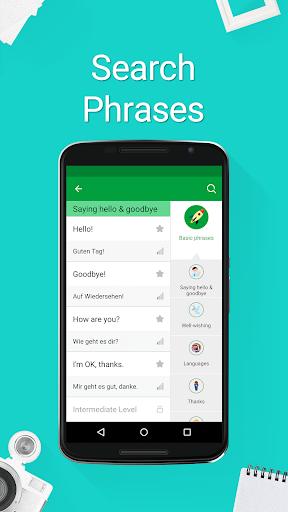 Speak German - 5000 Phrases & Sentences modavailable screenshots 5