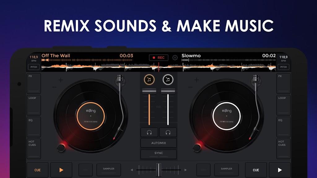 edjing Mix - Free Music DJ app  poster 1