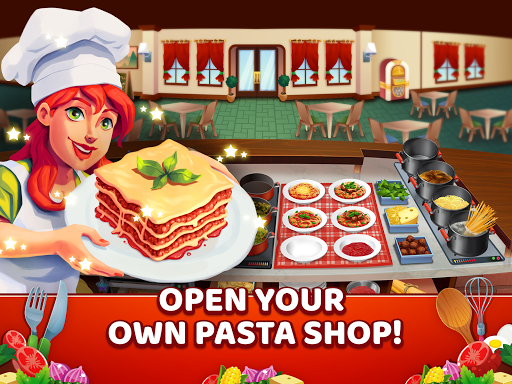 My Pasta Shop - Italian Restaurant Cooking Game modavailable screenshots 11